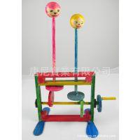 雙頭跳舞機   DIY科學教具 益智玩具 开发智力 动手能力