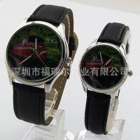 台湾旅游景点石英皮带手表 厂家批发定制 创意礼品定制表面生日礼