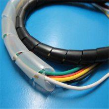 吉林缠绕管厂家、耐高温绕线带、扎条管、规格123456789/1-16