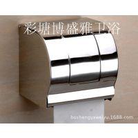 滚筒亮光不锈钢纸盒 纸巾盒 卷纸盒 厕纸盒 手纸盒  卫生间纸盒