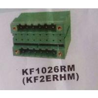 供应双层插拔式接线端子KF1026RM 两边带固定孔 间距5.00/5.08mm