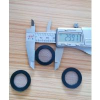 YF0602水表滤网DN25平面橡胶包边不锈钢过滤网片