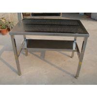茶山厨房耐磨易清洁不锈钢操作台