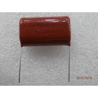 深圳市新亚洲电子市场批发金属化薄膜电容CBB81 2000V224J