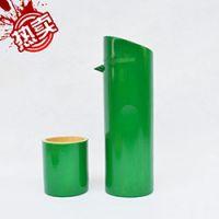 巨匠厂家定制欧式环保厨房料理工具酒店用品绿色竹制酒瓶酒壶