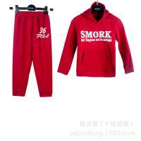 2014秋冬童装儿童韩版大卫衣卡通两件套男女童中小童卫衣套装批发