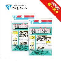日本 伽玛卡兹雷霆管付丸世 鱼钩 有倒刺 鱼钩渔具批发进口正品