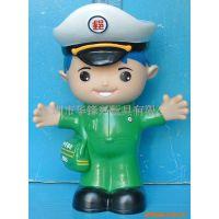 环保 塑胶公仔储钱罐 搪胶PVC储蓄罐 儿童玩具 婴儿礼品系列