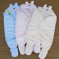 婴吉儿3989纯棉婴儿睡袋连脚睡袋宝宝睡袋 国家A类品牌商品1226