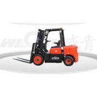 威肯叉车菏泽专卖木材加工厂板厂专用3吨柴油叉车价格表厂家直销