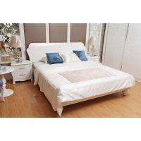 先驱家居--丘比特欧式双人床 简欧实木床 法式1.8米公主床