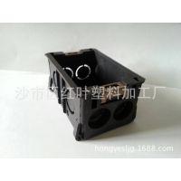 【厂家批发 阻燃底盒】118型开关底盒 接线盒 阻燃 质量钢钢哒