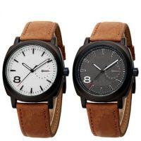 2014新款正品男士手表时尚户外休闲磨砂皮带军表石英表