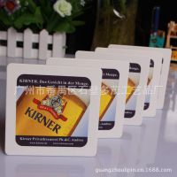 酒店用品 茶酒水餐厅广告礼品定制 吸水纸杯垫 纸杯垫 吸水杯垫