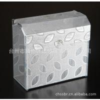 有机塑料草纸盒|有机塑料方纸盒601-002