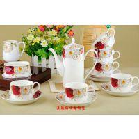 陶瓷咖啡具 景德镇骨瓷咖啡具 厂家直销咖啡具 定制咖啡具厂家