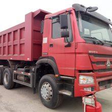 中国重汽豪沃6.3米车厢自卸车