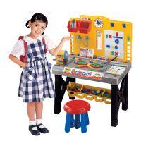 过家家玩具 男孩电动维修工具 手提儿童工具箱 仿真DIY工具台套装