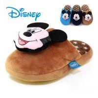 棉拖鞋批发14迪士尼秋冬款米奇儿童立体卡通小童保暖棉拖鞋14730
