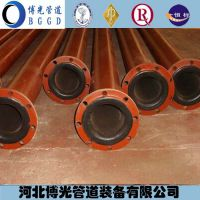 沧州博光衬胶钢管衬胶管件河北供应商衬胶钢管