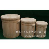 橡木熏蒸木桶健康家居足疗必备足浴桶厂家定制泡脚木桶 香柏木