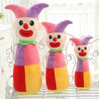 马戏团小丑毛绒大号人物抱枕沙发靠垫情侣生日礼物厂家直销批发