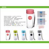 专业批发透明塑料保温杯 环保防漏优质水杯 欢迎选购  质量保证