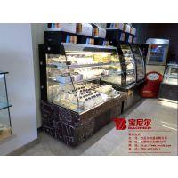 杭州蛋糕柜厂家 鸭脖冷藏展示柜 绝味鸭脖保鲜展示柜