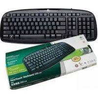 厂家直供 罗技 标准200单键盘 USB接口 罗技 有线单键盘 质量超好