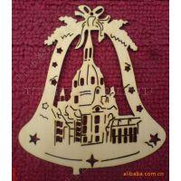厂家供应木质圣诞挂件 圣诞装饰吊牌