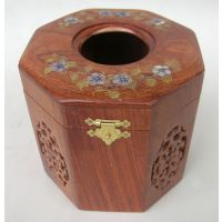 越南红木纸巾盒花梨餐巾筒创意实木居家抽式餐纸盒抽纸