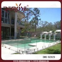 迪士尼玻璃泳池栏杆围墙栏杆,美标精铸DMS-B28291不锈钢栏杆