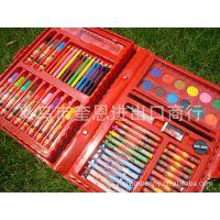 迪士尼系列/卡通水彩笔套装 蜡笔 水粉 水彩颜料 68件套 文具套装