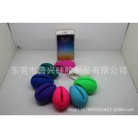 东莞厂家 爆款硅胶鸡蛋扩音器  三种苹果手机型号  现模直销