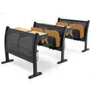 大专院校阶梯课室桌椅|大学阶梯教室课桌椅|中学生课桌椅价格