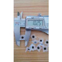 YF0505双脚方形导电硅胶按键PCB距离11.5mm带碳点硅胶按键