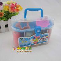 N002 橡皮泥16色 彩泥 益智 儿童DIY玩具 模具套装 无毒环保 485g