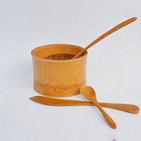 巨匠厂家定制高档出口精品 竹制耐摔型儿童专用竹碗 宝宝饭碗 沙拉碗