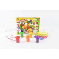 厂家直销新款益智玩具 橡皮泥模具套装 水果彩泥 安全无毒