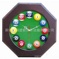台球厅挂表 八角台球时钟,八角台球钟,桌球钟,木质台球钟,台球钟
