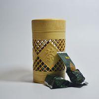巨匠厂家定制日韩式环保镂空竹茶叶筒 礼品包装 竹罐 竹茶叶桶