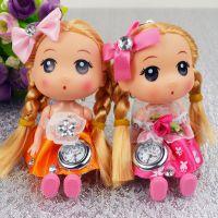 Fa230 可爱卡通娃娃挂表 衣服挂表 女士手表 挂件娃娃手表