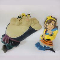 正品西游记公仔 孙悟空猪八戒儿童创意玩具玩偶摆件塑胶公仔