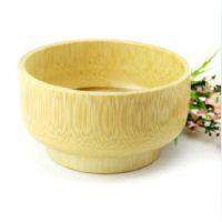 竹碗儿童餐具 天然大号 无漆竹木碗 木碗套装 环保  汤碗
