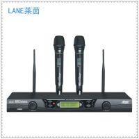 供应lane莱茵UR-811KTV专业无线话筒麦克风 舞台演出
