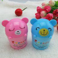 厂家直销揭阳富嘉可爱韩版学习文具冰淇淋熊卷笔刀
