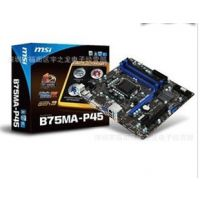 供应深圳厂家批发原装正品微星 B75MA-P45 主板电脑周边批发