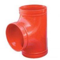 淄博消防沟槽管件、消防沟槽管件正三通、消防沟槽管件价格、盼忠建材