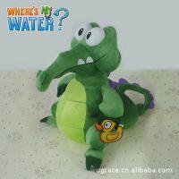 迪士尼where's my water 小顽皮 鳄鱼爱洗澡 毛绒玩具 公仔礼物