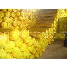 Heat / Sound Insulation Glass Wool, Glass Fiber Product For Exhibition Center, Shopping Mall